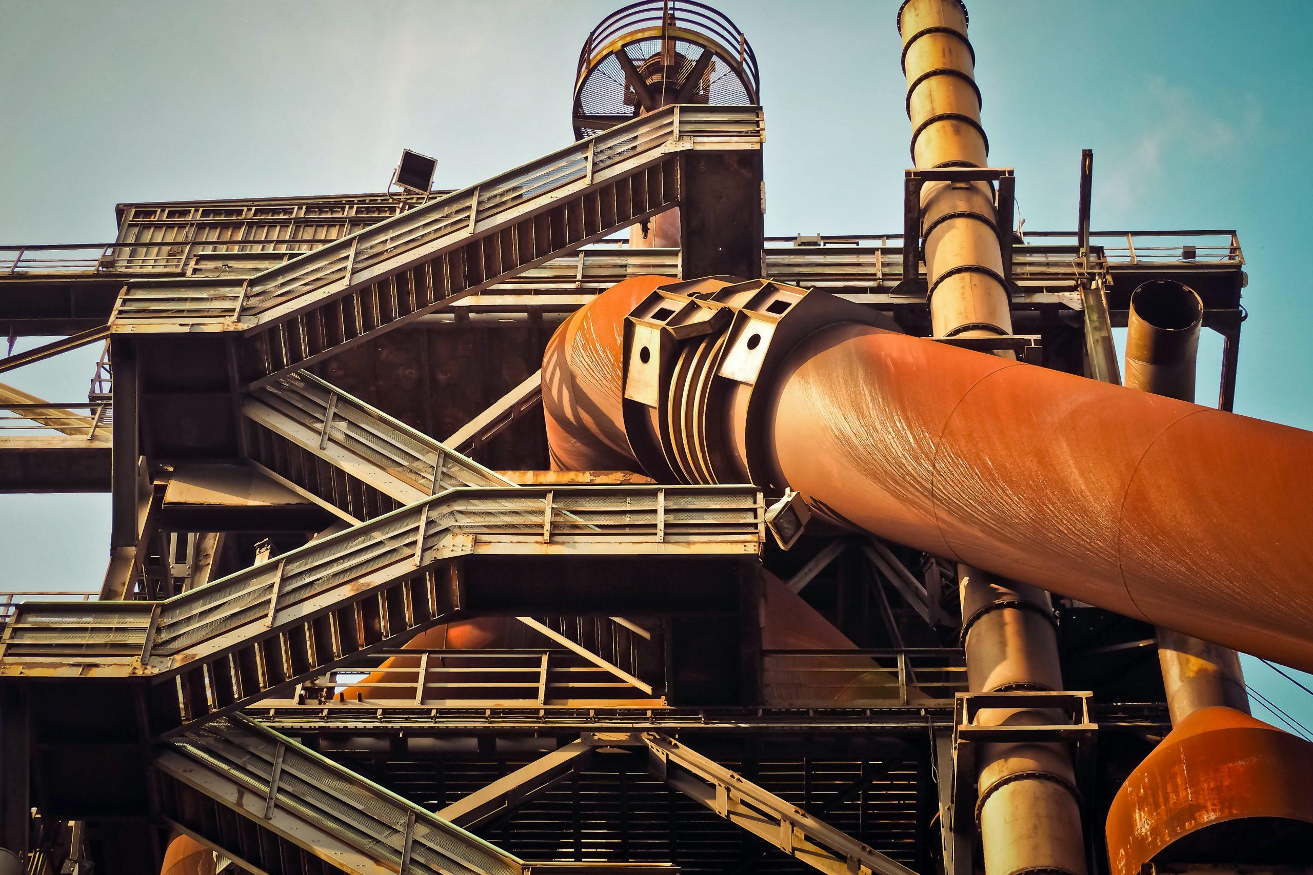 industrial corroed pipelines
