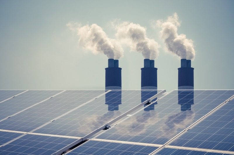 clean energy with pollution