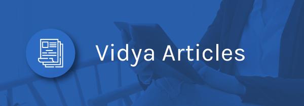 Vidya Articles