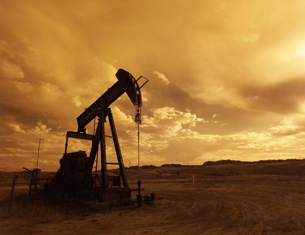 Inshore oil pump